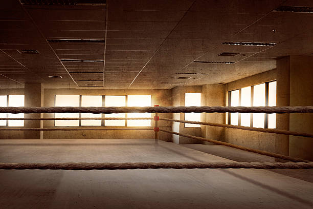 Hình ảnh sàn đài boxing