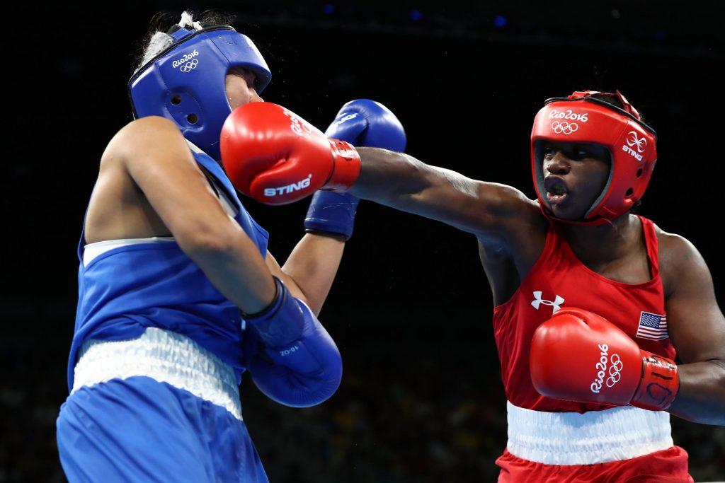 Ảnh thi đấu boxing olympic đẹp