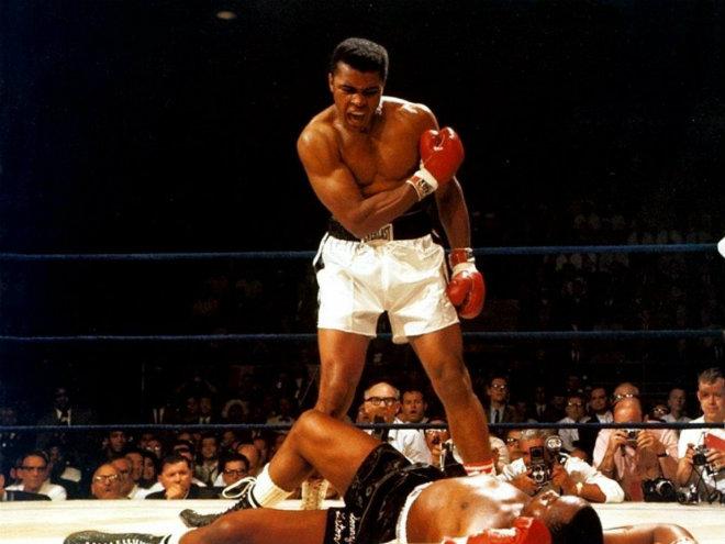 ảnh boxing Mohamed Aly truyền động lực đẹp