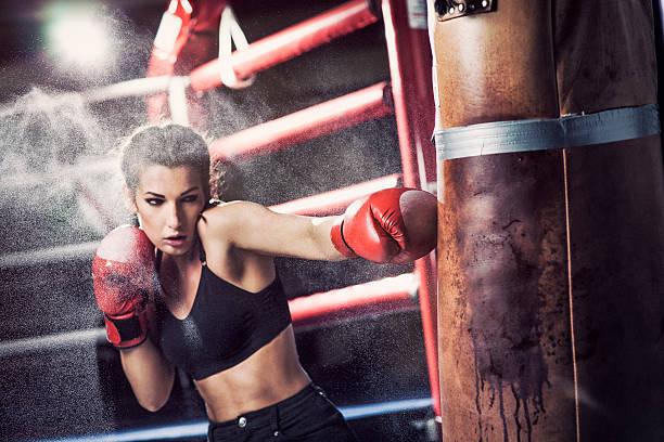 Ảnh boxing nữ chất