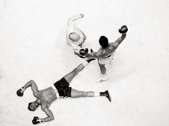 Anh boxxing Muahammad Ali hạ Knockout