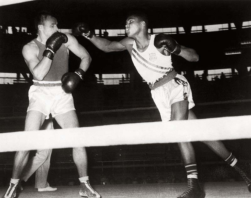 Ảnh boxing của Muhammad Ali kỳ Olympic