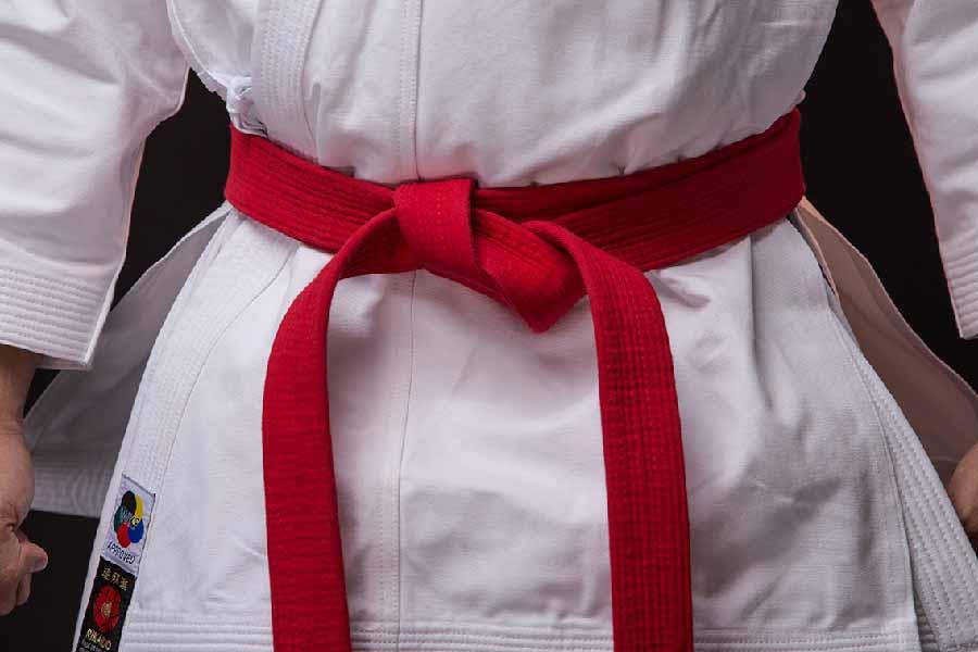 Đai và võ thuật karate