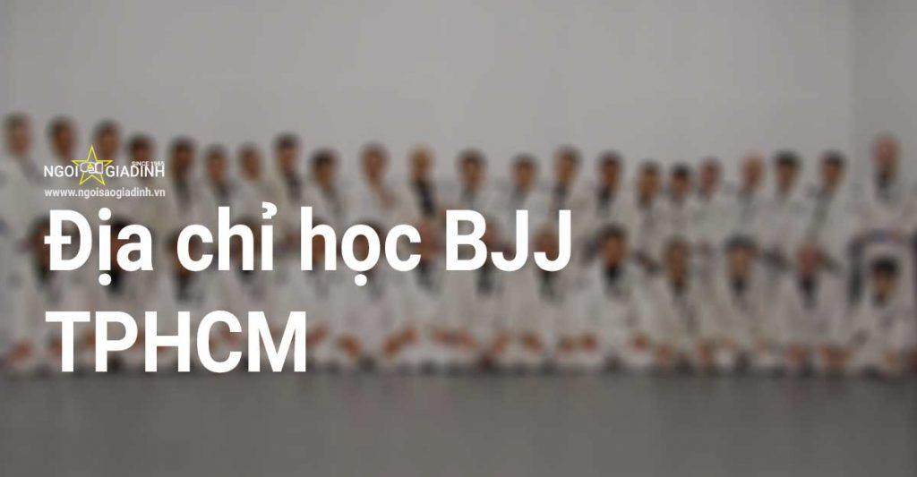 Địa chỉ học BJJ TPHCM